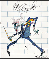 Legendary Gerald Scarfe artwork for sale.
