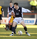 29/01/2005  Copyright Pic : James Stewart.File Name : jspa11_partick v raith.CONALL MURTAGH TAKES OUT STEPHEN FULTON......Payments to :.James Stewart Photo Agency 19 Carronlea Drive, Falkirk. FK2 8DN      Vat Reg No. 607 6932 25.Office     : +44 (0)1324 570906     .Mobile   : +44 (0)7721 416997.Fax         : +44 (0)1324 570906.E-mail  :  jim@jspa.co.uk.If you require further information then contact Jim Stewart on any of the numbers above.........A