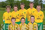 Kerry's Majestic Midfielders front row l-r: Danny Healy, Paudie Clifford, James O'donoghue. Back row: Dan O'Donoghue, George Carnegie, Cian Sheridan, Tommy Cahill and Matt Keane