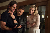 Tag (2018)  <br /> Director JEFF TOMSIC, JEREMY RENNER and LESLIE BIBB on the set of<br /> *Filmstill - Editorial Use Only*<br /> CAP/MFS<br /> Image supplied by Capital Pictures