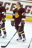 Kacy Ambroz (Minnesota-Duluth - 11) - The University of Minnesota-Duluth Bulldogs defeated the Boston College Eagles 3-0 on Friday, November 27, 2009, at Conte Forum in Chestnut Hill, Massachusetts.