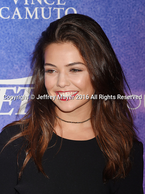 HOLLYWOOD, CA - AUGUST 16: Actress Danielle Campbell arrives at Variety's Power Of Young Hollywood at NeueHouse Hollywood on August 16, 2016 in Los Angeles, California.