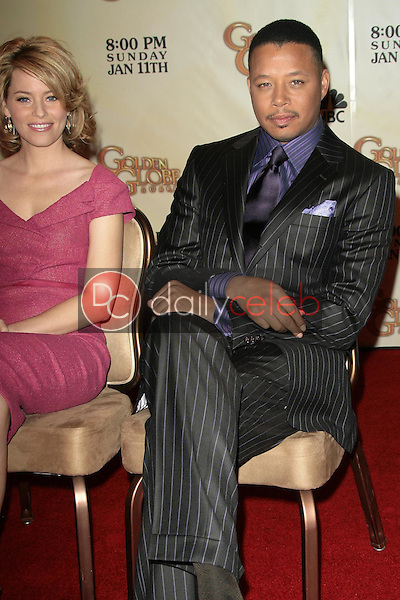 Elizabeth Banks and Terrence Howard <br /> at the 66th Annual Golden Globe Awards Nomination Announcement Press Conference. Beverly Hilton Hotel, Beverly Hills, CA. 12-11-08<br /> Dave Edwards/DailyCeleb.com 818-249-4998