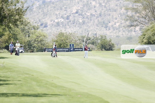 Bernd Wiesberger (AUT) and Adilson Da Silva (BRA) during the 3rd round of the Alfred Dunhill Championship, Leopard Creek Golf Club, Malelane, South Africa. 15/12/2018<br /> Picture: Golffile | Tyrone Winfield<br /> <br /> <br /> All photo usage must carry mandatory copyright credit (&copy; Golffile | Tyrone Winfield)