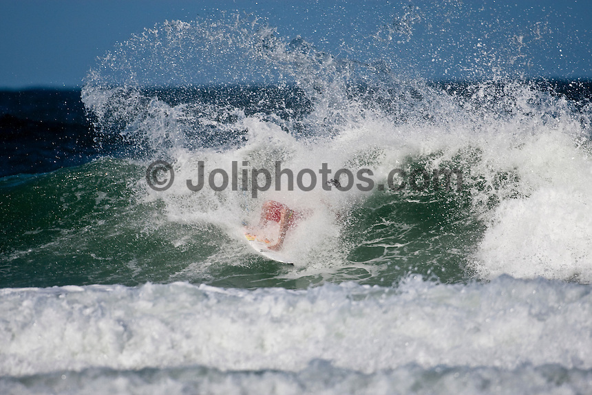 Jordy Smith (ZAF) surfing at D-Bah, Coolangatta , Queensland, Australia.  Photo: joliphotos.com