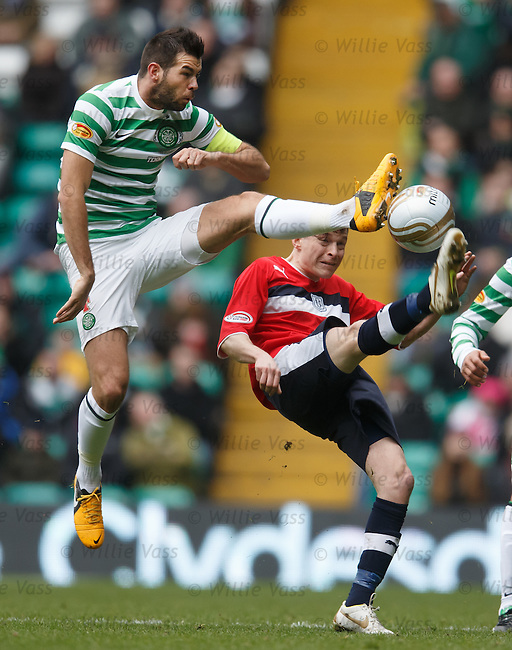 Joe Ledley and Nicky Riley