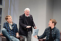Six Characters in Search of a Director. Written and directed by Steven Berkoff. With Paul Trussell as Alan,  Philip Voss as Charles, Neil Stuke as Brian. Opens at The Charring Cross  Theatre  on 23/5/12 .CREDIT Geraint Lewis