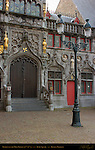 Basilica of the Holy Blood, 12th-15th century, Sculptures and Reliefs of Dukes and Duchesses of Flanders, Burg Square, Bruges, Brugge, Belgium