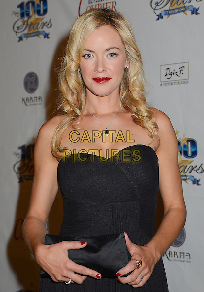 Kristanna Loken.22nd Annual Night of 100 Stars Academy Awards Viewing Party held at the Beverly HIlls Hotel Crystal Ballroom, Beverly HIlls, California, USA..26th February 2012.half length black strapless dress clutch bag.CAP/ADM/BT.©Birdie Thompson/AdMedia/Capital Pictures.