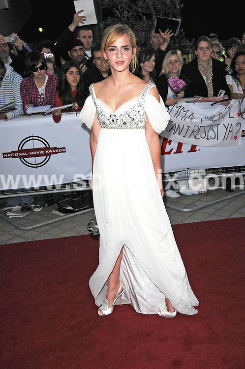 **ALL ROUND PICTURES FROM SOLARPIX.COM**.**WORLDWIDE SYNDICATION RIGHTS**.Celebrities arrive at The Movie awards 2008 at The Royal festival Hall in London..This pic;Emma Watson...JOB REF:  7256      MSR    DATE: 087.09.08.**MUST CREDIT SOLARPIX.COM OR DOUBLE FEE WILL BE CHARGED* *UNDER NO CIRCUMSTANCES IS THIS IMAGE TO BE REPRODUCED FOR ANY ONLINE EDITION WITHOUT PRIOR PERMISSION*