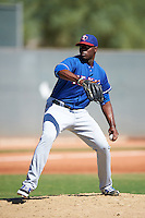 Texas Rangers pitcher C.D. Pelham (94) during an Instructional League game against the Cincinnati Reds on October 4, 2016 at the Surprise Stadium Complex in Surprise, Arizona.  (Mike Janes/Four Seam Images)