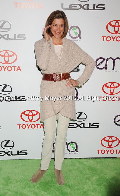 BURBANK, CA. - October 16: Wendie Malick arrives at the 20th Annual Environmental Media Awards held at Warner Bros. Studios on October 16, 2010 in Burbank, California.