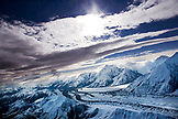 USA, Alaska, view of the Denali Range, Denali National Park