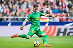Goalkeeper Leandro Chichizola of UD Las Palmas in action during the La Liga 2017-18 match between Atletico de Madrid and UD Las Palmas at Wanda Metropolitano on January 28 2018 in Madrid, Spain. Photo by Diego Souto / Power Sport Images