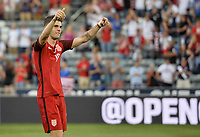 Commerce City, CO - Thursday June 08, 2017: Christian Pulisic celebrates his goals<br />  during their 2018 FIFA World Cup Qualifying Final Round match versus Trinidad &amp; Tobago at Dick&rsquo;s Sporting Goods Park.