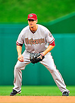 15 August 2010: Arizona Diamondbacks second baseman Kelly Johnson in action against the Washington Nationals at Nationals Park in Washington, DC. The Nationals defeated the Diamondbacks 5-3 to take the rubber match of their 3-game series. Mandatory Credit: Ed Wolfstein Photo