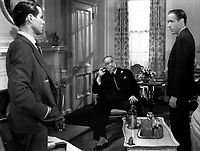 The Maltese Falcon (1941)<br /> Humphrey Bogart, Elisha Cook Jr. &amp; Sydney Greenstreet<br /> *Filmstill - Editorial Use Only*<br /> CAP/KFS<br /> Image supplied by Capital Pictures