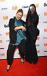 Director Sophie Fiennes and Grace Jones attend the 'Grace Jones: Bloodlight And Bami' premiere during the 2017 Toronto International Film Festival at The Elgin on September 7, 2017 in Toronto, Canada.