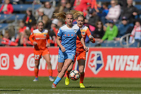 Bridgeview, IL - Saturday May 06, 2017: Alyssa Mautz during a regular season National Women's Soccer League (NWSL) match between the Chicago Red Stars and the Houston Dash at Toyota Park. The Red Stars won 2-0.