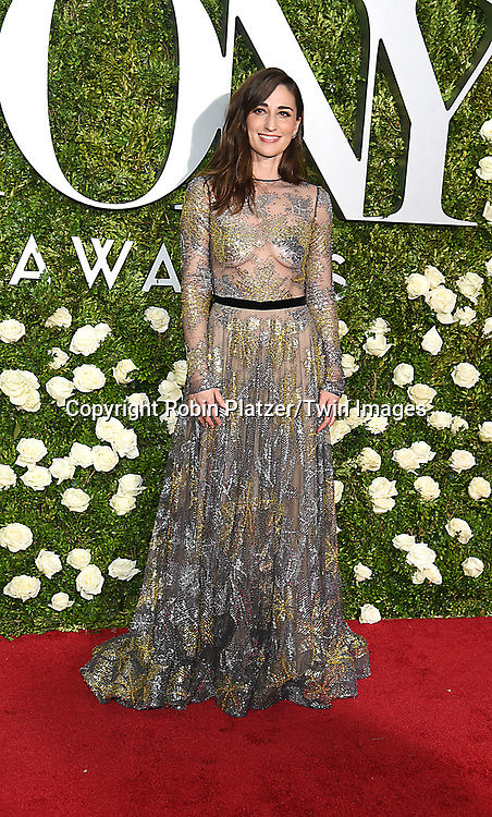 Sara Bareilles attends the 71st Annual  Tony Awards on June 11, 2017 at Radio City Music Hall in New York, New York, USA.<br /> <br /> photo by Robin Platzer/Twin Images<br />  <br /> phone number 212-935-0770