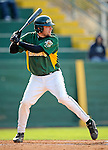 30 April 2008: University of Vermont Catamounts' first baseman Ethan Paquette, a Sophomore from West Burke, VT, in action against the University of Massachusetts Minutemen at Historic Centennial Field in Burlington, Vermont. The Catamounts recorded a season-high 19 hits as they defeated the Minutemen 17-4 in their last NCAA non-conference game of the year...Mandatory Photo Credit: Ed Wolfstein Photo