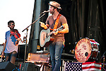Drake White and the Big Fire opening for Brett Eldredge at Black Diamond Harley Davidson