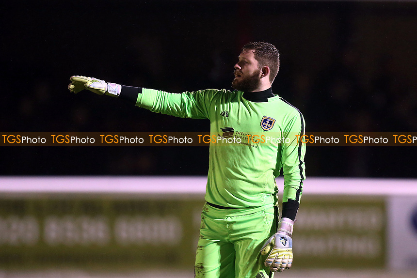 Jonathan Maxted of Guiseley during Dagenham & Redbridge vs Guiseley, Vanarama National League Football at the Chigwell Construction Stadium on 18th November 2017
