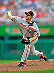 24 May 2009: Baltimore Orioles' relief pitcher Chris Ray on the mound during a game against the Washington Nationals at Nationals Park in Washington, DC. The Nationals rallied to defeat the Orioles 8-5 and salvage a win in their interleague series. Mandatory Credit: Ed Wolfstein Photo