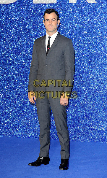 LONDON, ENGLAND - FEBRUARY 4: Justin Theroux attends the London Fan Screening of Zoolander No. 2 at Empire Leicester Square on February 4, 2016 in London, England.<br /> CAP/DH<br /> &copy;DH/Capital Pictures