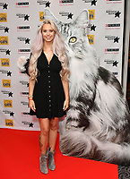 Jessica-Jane Stafford<br /> Cats Protection's National Cat Awards, held by the Cats Protection celebrating feline tales of courage, promote benefits of cat adoption. The Savoy Hotel, London, England on August 02, 2018.<br /> CAP/JOR<br /> &copy;JOR/Capital Pictures