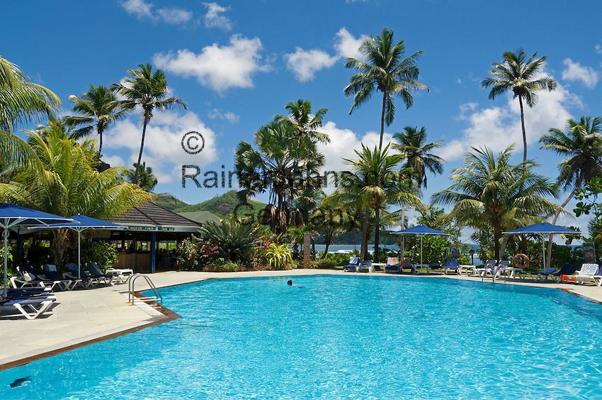 Seychelles, Island Mahe, Baie Lazare: Hotel The Plantation Club - Pool
