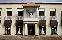 A bridal wedding dress store in West Laredo, Texas, Tuesday, Dec., 8, 2009. ..PHOTOS/ MATT NAGER