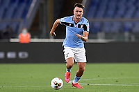 Patric Gil of SS Lazio in action during the Serie A football match between SS Lazio and ACF Fiorentina at stadio Olimpico in Roma ( Italy ), June 27th, 2020. Play resumes behind closed doors following the outbreak of the coronavirus disease. Photo Antonietta Baldassarre / Insidefoto