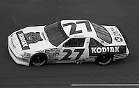Rusty Wallace #27 Pontiac Daytona 500 at Daytona International Speedway in Daytona Beach, FL on February 14, 1988. (Photo by Brian Cleary/www.bcpix.com)
