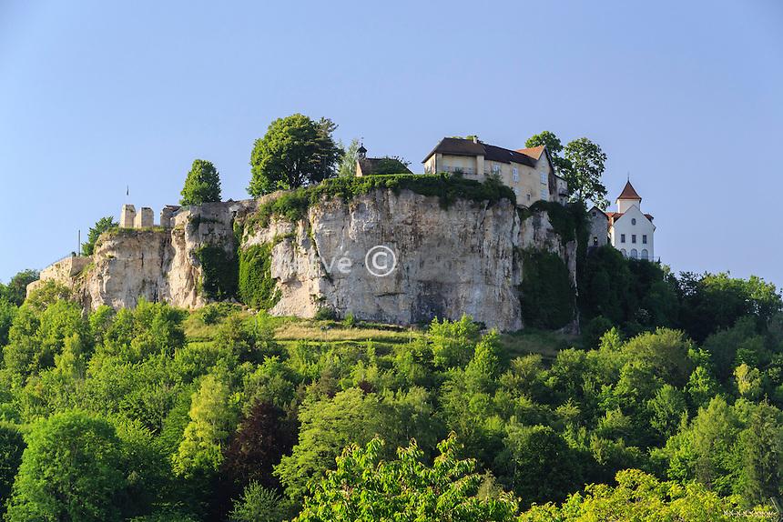 France, Doubs (25), Ornans, le promontoire du château // France, Doubs, Ornans, the headland of the castle