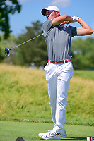 Maverick McNealy (am)(USA) watches his tee shot on 12 during Thursday's round 1 of the 117th U.S. Open, at Erin Hills, Erin, Wisconsin. 6/15/2017.<br /> Picture: Golffile | Ken Murray<br /> <br /> <br /> All photo usage must carry mandatory copyright credit (&copy; Golffile | Ken Murray)