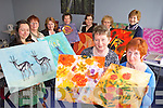 COLOUR: Students of the Fetac Level 4 Craft Textiles course at the Listowel Family Resource Centre, front l-r: Mary Corridan, Anita Riordan. Back l-r: Jamie O'Donovan, Priscilla Sweeney (Tutor), Helen Broderick, Angela Podger, Kathleen Woods, Anna Lavery.