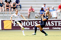 Cary, North Carolina  - Saturday July 01, 2017: Kelley O'Hara and Makenzy Doniak during a regular season National Women's Soccer League (NWSL) match between the North Carolina Courage and the Sky Blue FC at Sahlen's Stadium at WakeMed Soccer Park. Sky Blue FC won the game 1-0.