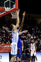 GRONINGEN - Basketbal, Donar - Den Helder, Dutch Basketbal League, seizoen 2019-2020, 09-02-2020,  score Donar speler Thomas Koenis