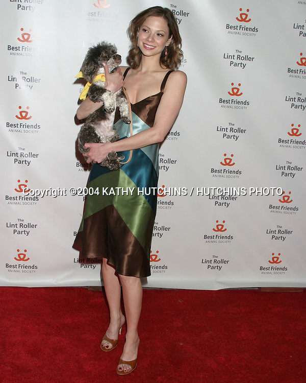 ©2004 KATHY HUTCHINS /HUTCHINS PHOTO.LINT ROLLER BENEFIT FOR BEST FRIENDS.HOLLYWOOD, CA.APRIL 28, 2004..TAMARA BRAUN