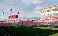 Rio Tinto Stadium in Sandy, Utah on October 9, 2008. Photo by Julia Fizer/isiphotos.com