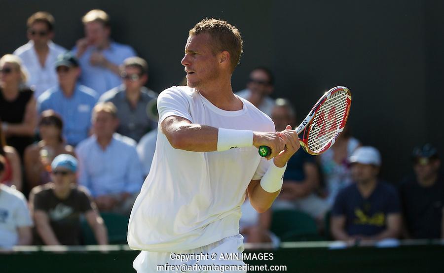 LLEYTON HEWITT (AUS)<br /> <br /> TENNIS - THE CHAMPIONSHIPS - WIMBLEDON 2015 -  LONDON - ENGLAND - UNITED KINGDOM - ATP, WTA, ITF <br /> <br /> &copy; AMN IMAGES