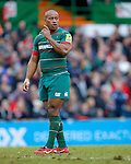 Seremaia Bai of Leicester Tigers - Aviva Premiership - Leicester Tigers vs Sale Sharks - Season 2014/15 - 28th February 2015 - Photo Malcolm Couzens/Sportimage