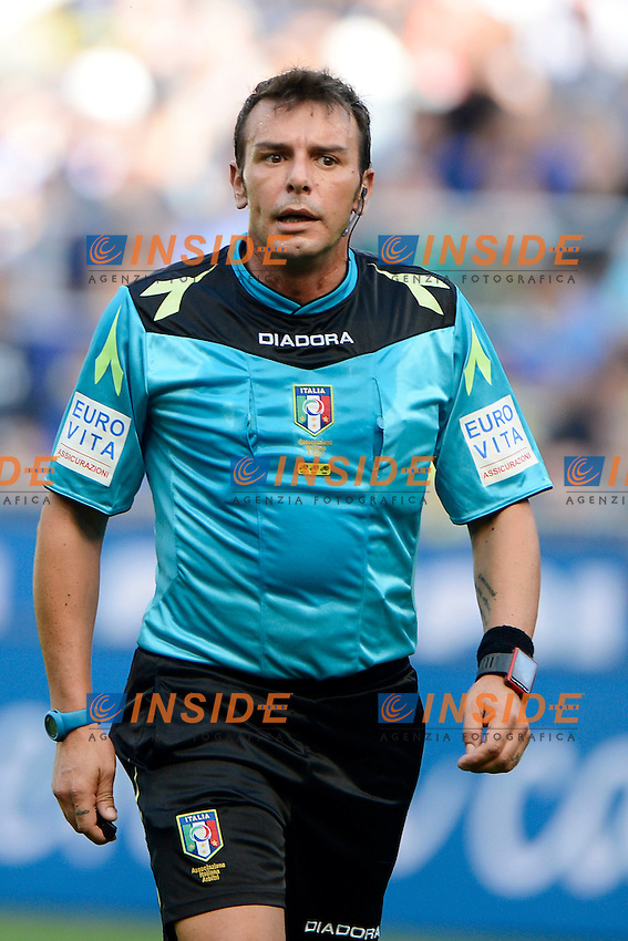 Domenico Celi arbitro.Referee<br /> Milano 25-09-2016 Stadio Giuseppe Meazza - Football Calcio Serie A Inter - Bologna. Foto Giuseppe Celeste / Insidefoto