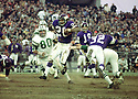 Minnesota Vikings Clinton Jones (26) during a game against the New York Jets on November 29, 1970 at Shea Stadium in Flushing, New York The New York Jets  beat the Minnesota Vikings 20-10.  Clinton Jones played for 7 years with 2 different teams.(SportPics)