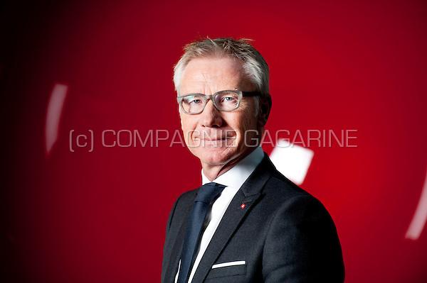 Marc Raisière, CEO of Belfius Bank and Insurance (Belgium, 15/10/2015)