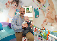 Young visitors at the Pampers World of Never-Ending Play at Silverburn, Glasgow
