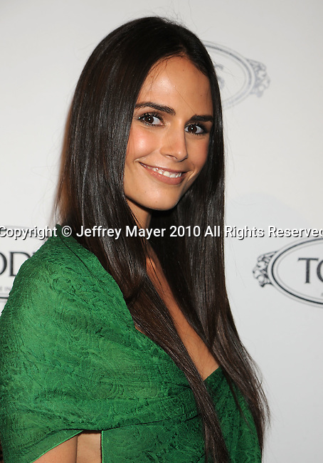 BEVERLY HILLS, CA. - April 15: Jordana Brewster arrives at the Diego Della Valle Cocktail Celebration Honoring Tod's Beverly Hills Boutique on April 15, 2010 in Beverly Hills, California.