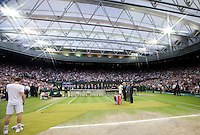 Ambience on Men's Finals Day at The All England Club..Tennis - Grand Slam - The Championships Wimbledon - AELTC - The All England Club - London - Sun July 8h 2012. .© AMN Images, 30, Cleveland Street, London, W1T 4JD.Tel - +44 20 7907 6387.mfrey@advantagemedianet.com.www.amnimages.photoshelter.com.www.advantagemedianet.com.www.tennishead.net