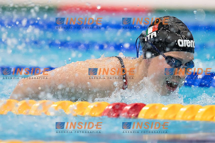 PIROZZI Stefania ITA<br /> 200 Butterfly women<br /> London, Queen Elizabeth II Olympic Park Pool <br /> LEN 2016 European Aquatics Elite Championships <br /> Swimming day 06 heats<br /> Day 13 21-05-2016<br /> Photo Giorgio Scala/Deepbluemedia/Insidefoto